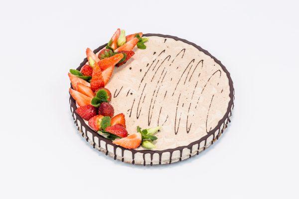 """Вегетарианский торт """"Ванильный Чизкейк"""" - Состав десертов кондитерской Sweet Green в Минске"""