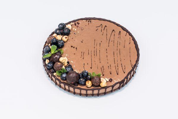 """Вегетарианский торт """"Шоколадный"""" - Состав десертов кондитерской Sweet Green в Минске"""