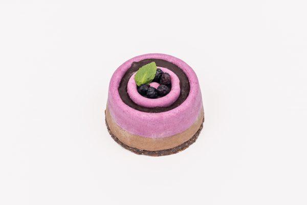 """Вегетарианское пирожное """"Смородина-Шоколад"""" - Кондитерская Sweet Green"""
